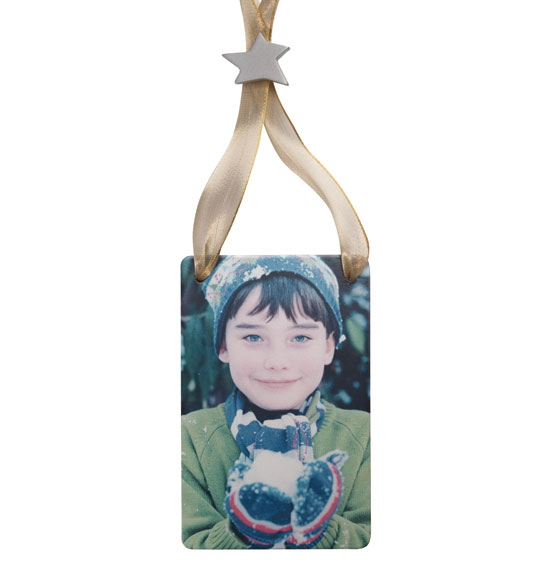 Personalized Vertical Photo Ornament