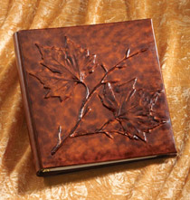 Foglia Leather Photo Album
