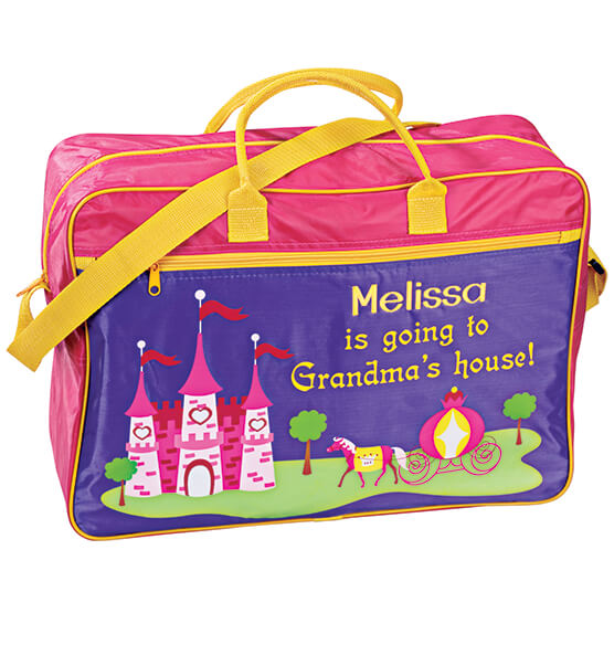 Personalized Girls Going to Grandmas Tote