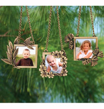 Family Tree Leaf Ornaments