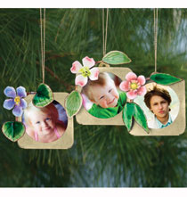 Woodland Photo Ornament