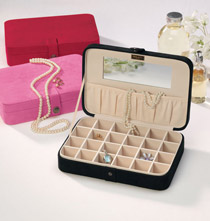 Plush Jewelry Box