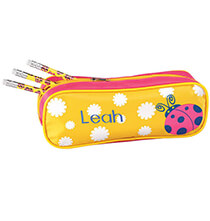 Books & Education - Personalized Ladybug Pencil Case