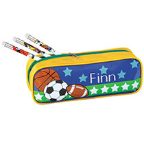 Books & Education - Personalized All-Star Sports Pencil Case