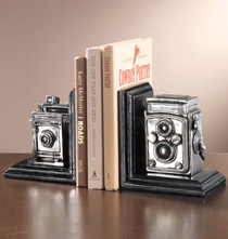 Camera Bookend Set