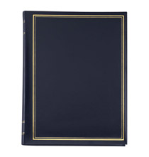 Presidential Memo Photo Album   Black