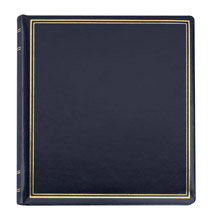 Platinum Leather Albums - Presidential Leather Photo Album