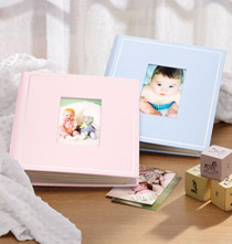 New Baby Gifts - Beautiful Baby Photo Album