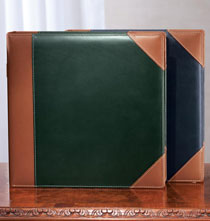 Ivy League Leather Picture Album – Suede-Lined Album