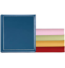 Platinum Leather Albums - Felicity Large Memo Photo Album