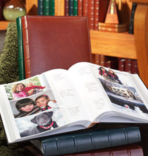 Best Sellers - Charter Bonded Leather Photo Album with Raised Spine