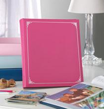 5 x 7 Memo Photo Album   Pink