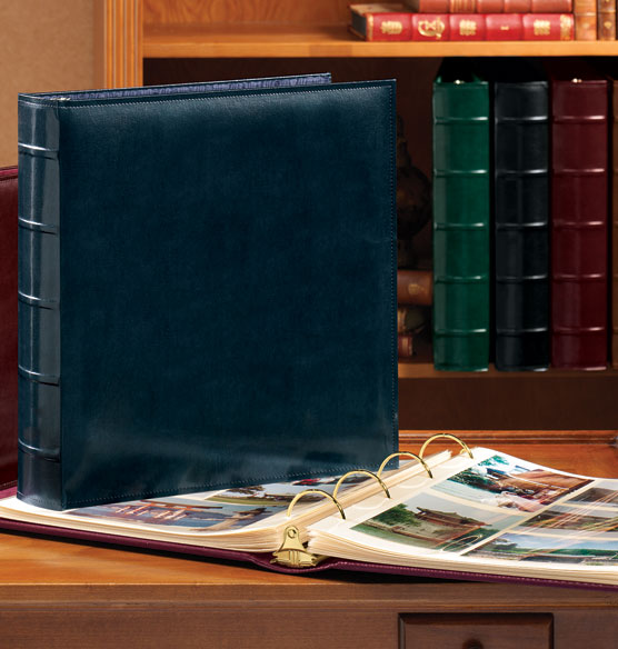 Charter Leather Photo Album – Large Extra Capacity