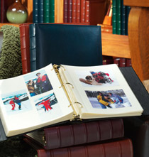 Charter Leather Photo Album – Extra-Capacity Album