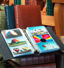 Ring Albums - Charter Extra-Capacity Slim Photo Album