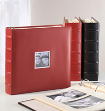 Absolute Extra-Capacity Photo Album   Red