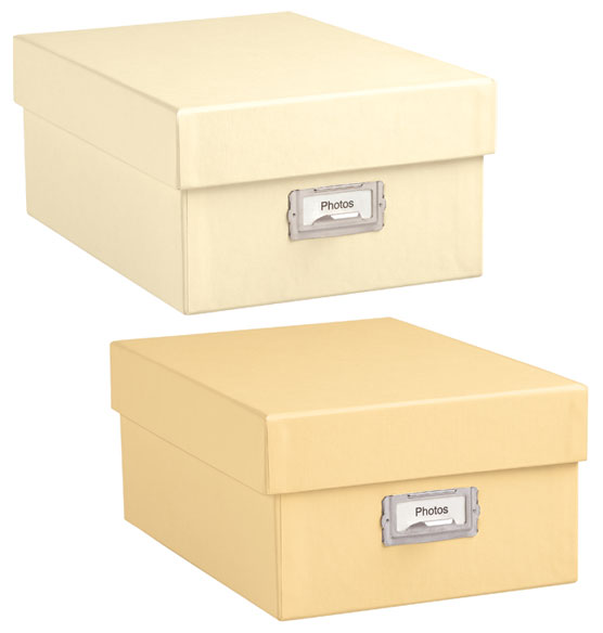 Photo Storage Box - Decorative Storage Boxes - Exposures: exposuresonline.com/buy-signature-photo-storage-box-344314