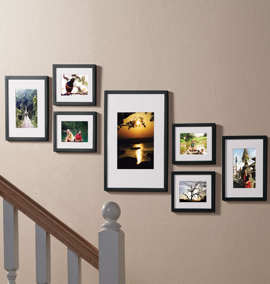 Staircase Picture Frame Set