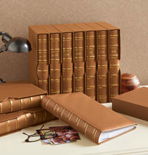Slipcase European Leather Memo Album