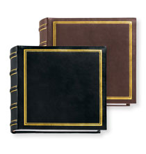Essential European Leather Medium Memo Album
