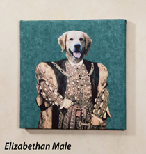 Photo Canvases - Large Custom Pet Portrait Canvas