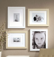 Perfect Frame™ Leather Wall Frame Butter