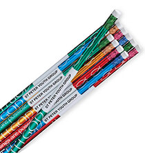 Books & Education - Personalized With God Foil Pencils, Set of 12