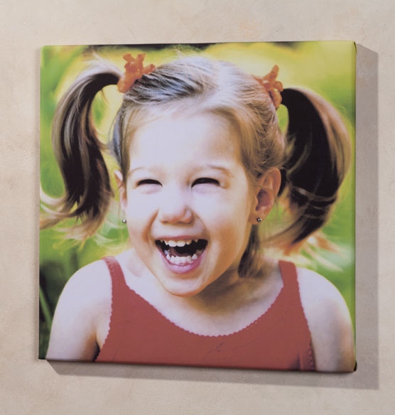 18x18 Custom Photo Canvas