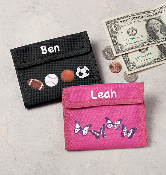 Personalized Childrens Wallets