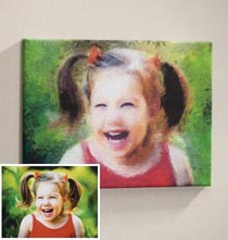 Impressionist Photo Canvas - 11 X 17