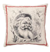 Old World Santa Pillow