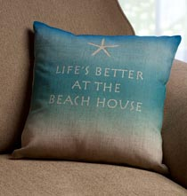 Pillows - Beach House Pillow