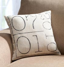 Wedding Gifts - Your Special Date Pillow