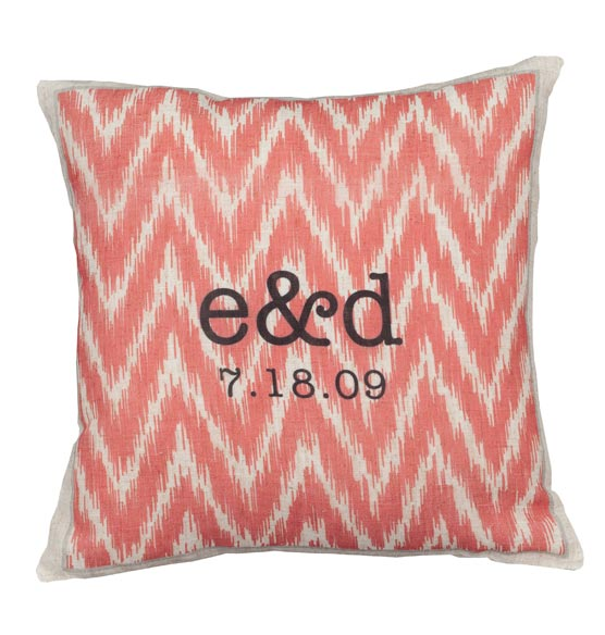 Ikat Personalized Pillow
