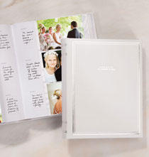 Email Exclusive Sale - Ultimate Wedding Personalized Leather Memo Photo Album