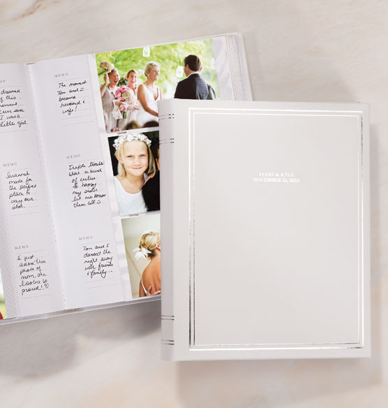 Ultimate Wedding Leather Memo Album Personalized - View 1