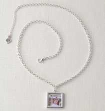 Photo Décor & Gifts - Rolo Chain Photo Necklace