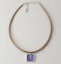 Gifts for Her - Multi-Strand Photo Necklace