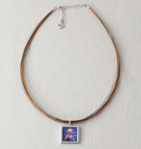 Multi-Strand Photo Necklace