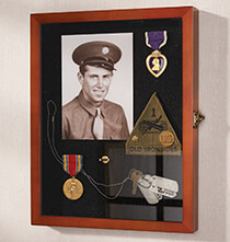 Gifts for Veteran's Day - Halstead Museum Frame Shadow Box