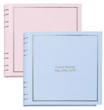 Scrapbooks & Memo Albums - Beautiful Baby Memo Album with Personalization