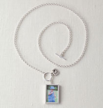 Gifts for Her - Love Charm Photo Necklace