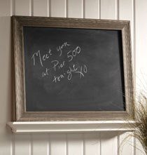 Gifts Under $100 - Driftwood Chalk Board