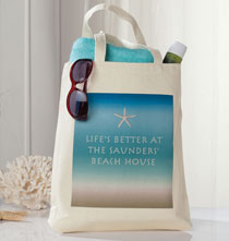 Photo Décor & Gifts - Beach House Tote