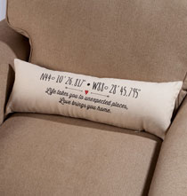 Gifts Under $50 - Life and Love Pillow