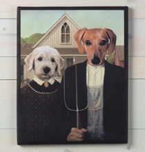 Photo Décor & Gifts - American Gothic© Custom Canvas