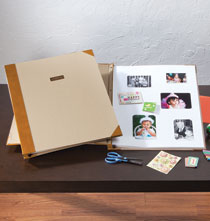 Gifts for the Photo Lover - Personalized Gigantic Scrapbook