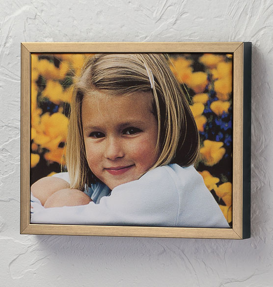 Framed 8x10 Custom Photo Canvas