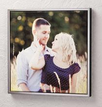 Framed 18x18 Custom Photo Canvas