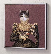 Framed Large Custom Pet Portrait Canvas